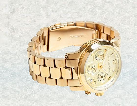 Часы Michael Kors + серьги Dior